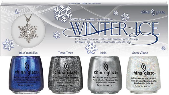 China Glaze Let It Snow Winter Ice