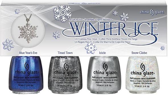 China Glaze Let It Snow Winter Ice