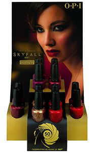 OPI Skyfall James Bond 2012