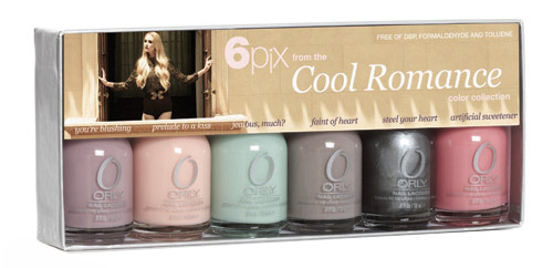 Orly Cool Romance 6 polishes set