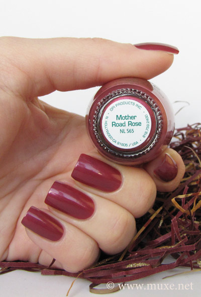 OPI Mother Rose Road NL S65 swatch