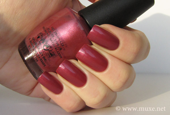 OPI Mother Rose Road swatch