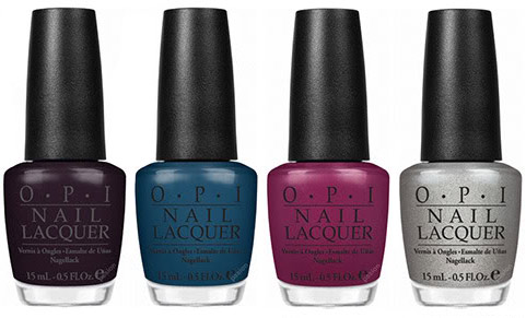 OPI Swiss bottles colors