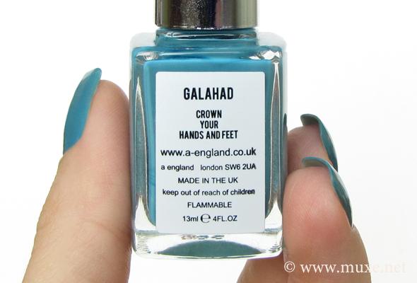 a england Galahad teal nail polish