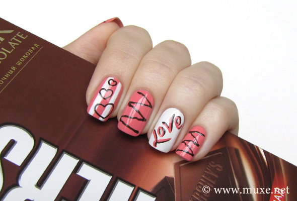 Chocolate Nails Design