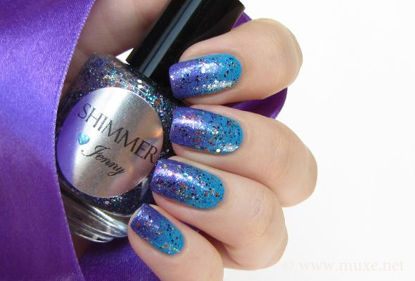 Shimmer nail polish Jenny