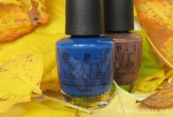OPI nail polish bottles