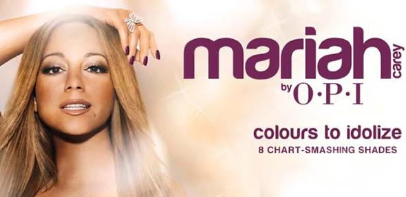 Mariah Carey for OPI 2013