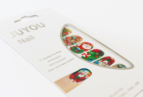 JuYou nail wraps design