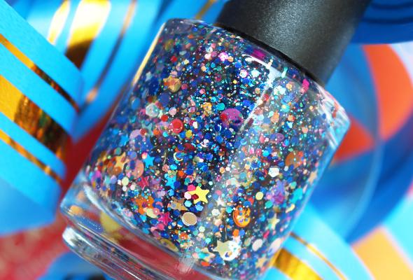Starrily nail polish glitter Galaxy