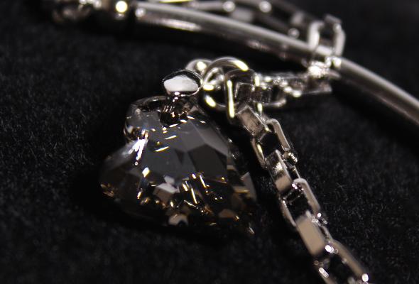 Crystal heart bracelet SOUFEEL