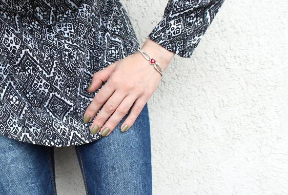 Crystal Bracelets outfit