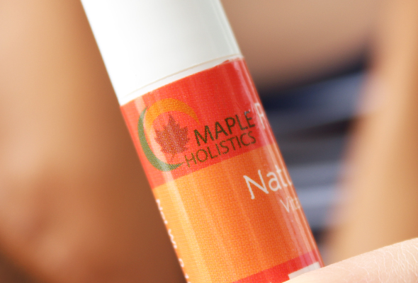 Maple Holistics natural lip balm