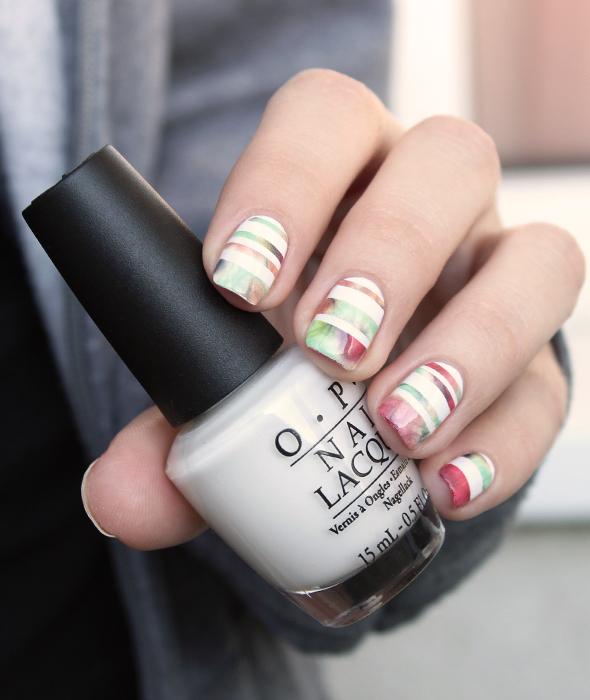 OPI Alpine Snow white nail polish