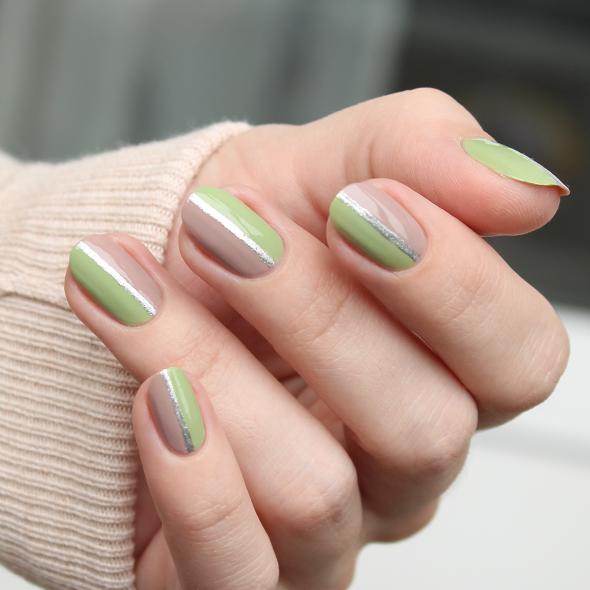 Essie Navigate Her nail design