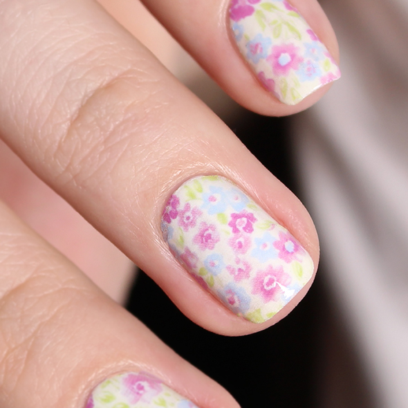 Floral water decals nail art Born Pretty Store