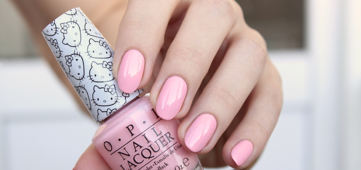 OPI Hello Kitty 2016 Small + Cute = Love NL H84
