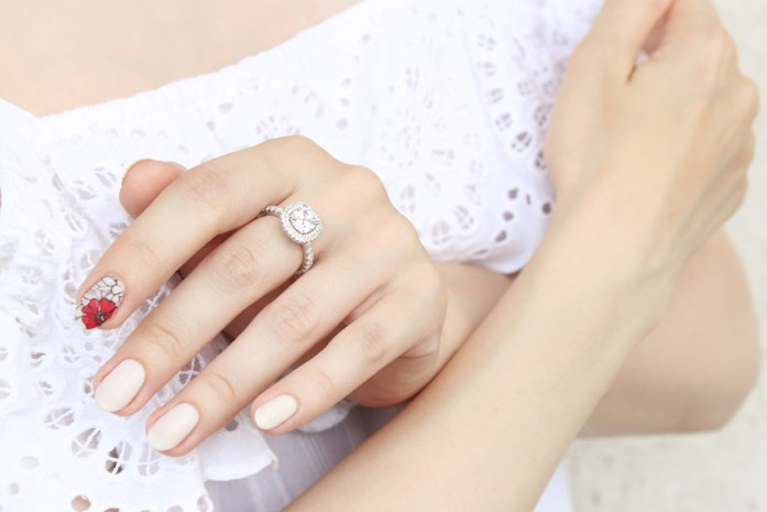 cheap silver ring