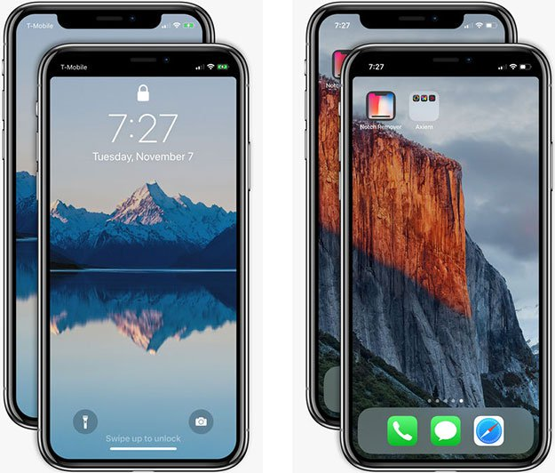 Notchless Wallpaper Iphone X 191 Se Ha Equivocado Apple Con El Dise 241 O Del Iphone X