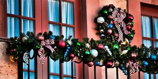 Decoracion Terrazas Navidad ~   Navidad decorar balc?n navidad decorar terraza navidad Navidad
