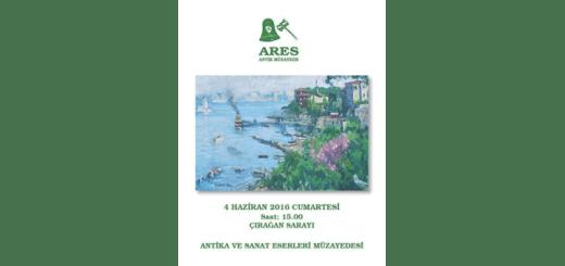 4 Haziran 2016 Antika ve Sanat Eserleri Müzayedesi - Ares Müzayede