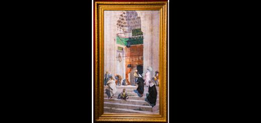 Osman Hamdi Bey'in Yeşil Cami Önü Rekor Kırdı