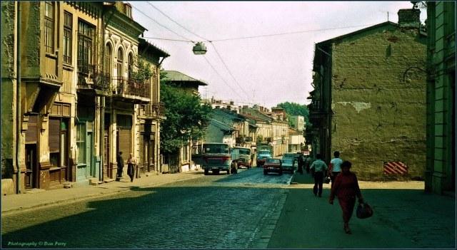 Strada rahova în 1980
