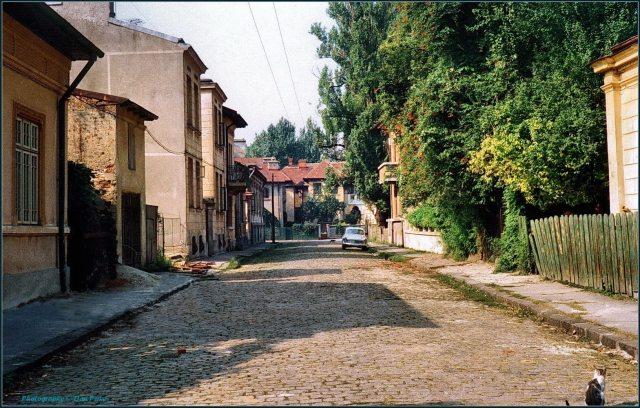 Strada Intrarea Libertății în 1980