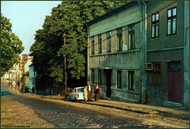 Strada, Arionoaiei, București, 1980