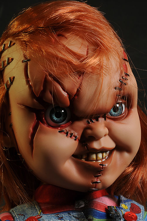 Decent Girl Wallpaper Review And Photos Of Chucky Large Action Figure From Mezco