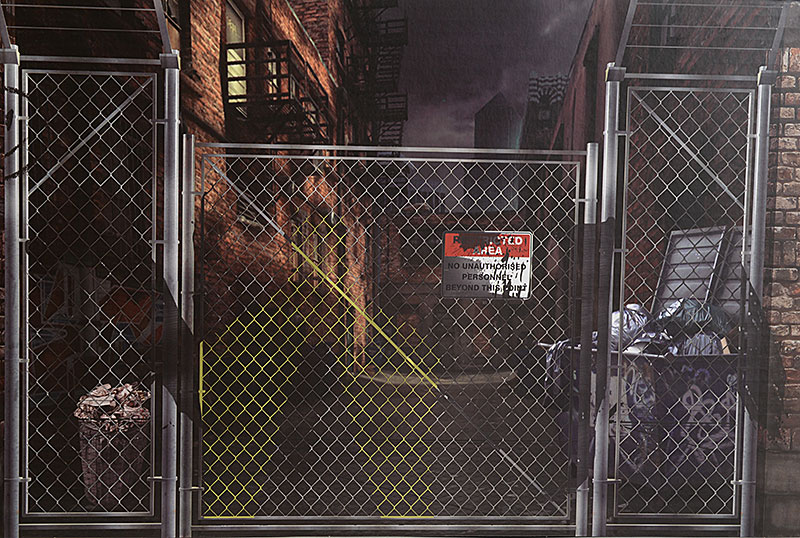 Review and photos of Deranged Alley Pop Up Diorama by Extreme-Sets