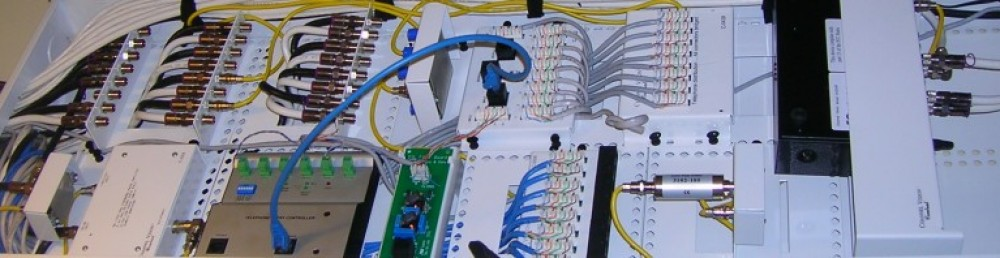 Commercial Cat6 Telco and Data panel install in Sunnyvale MW Home