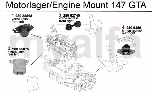 alfa romeo 159 engine diagram