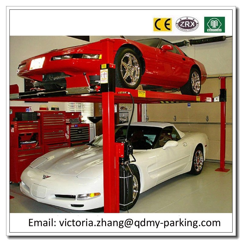 On Sale! Cheap 3600kgs 4 post hydraulic car park lift Four Post