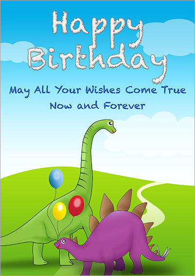 Printable Kids Birthday Cards