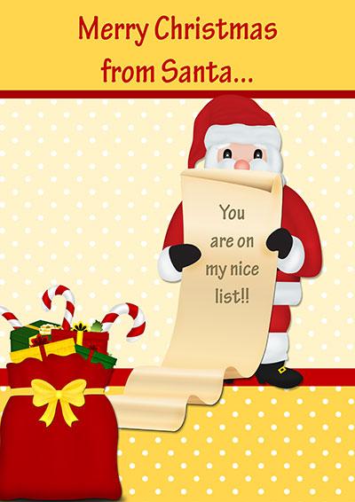 Printable Christmas Cards - free printable merry christmas cards