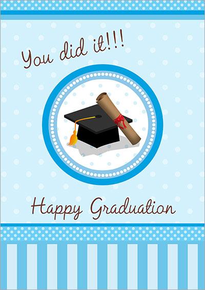 printable free graduation cards - Onwebioinnovate - print grad cards