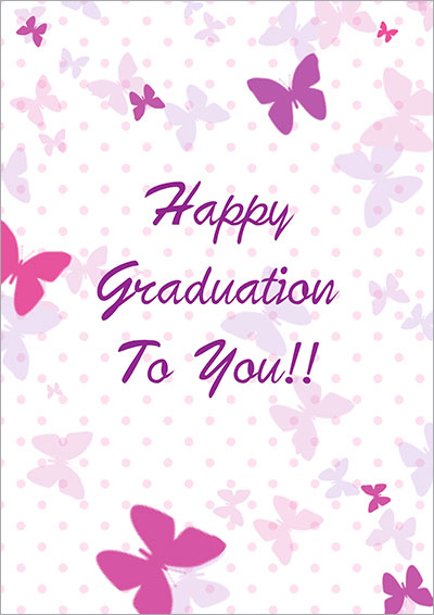 Printable Graduation Cards - print grad cards