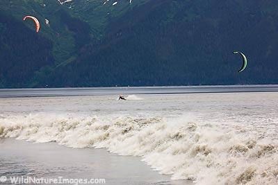 Kite Boarding Bore Tides