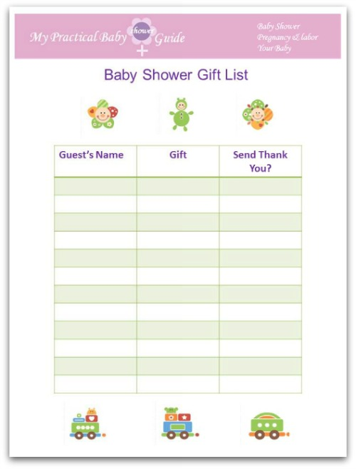 How to Plan a Baby Shower - My Practical Baby Shower Guide