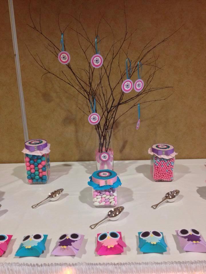 Owl Baby Shower Theme Ideas