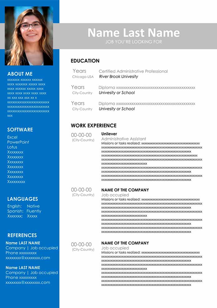 free resume templates that stand out