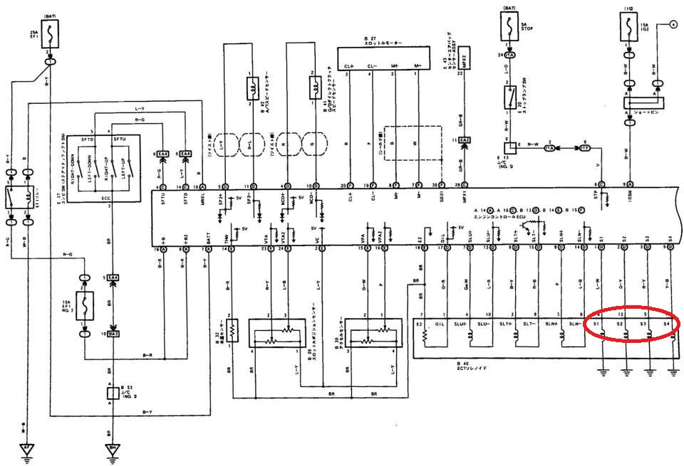 3s beams wiring diagram