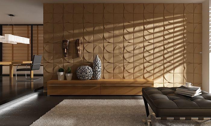 Modern Eco Friendly Bamboo Fiber Restaurant Wall Coverings