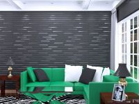 Modern Design Decorative Wall Covering Panels 3D Textured ...