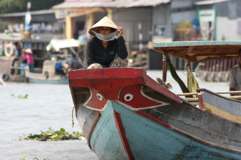 The buzzing life along the Mekong