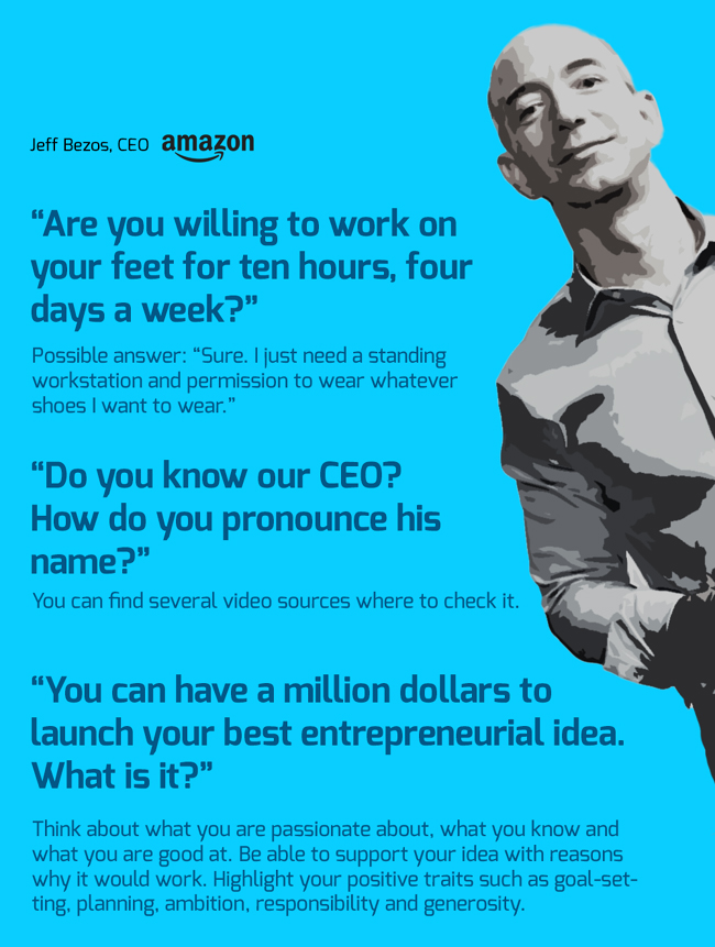 Job Interview Questions From Google, Apple, Amazon and How to React