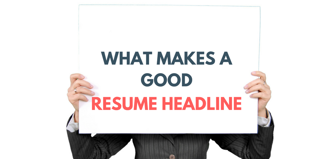 20 Examples How A Resume Headline For Fresher Should Look Like