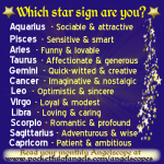 Star Sign Quotes Funny