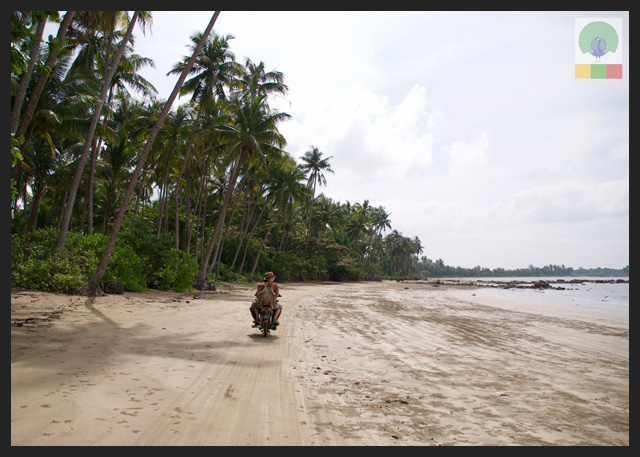 Adventure from Chaungtha to Ngwesaung Beach